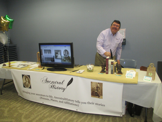 AncestralHistory at the Virginia Beach Genealogical Society's Spring Conference