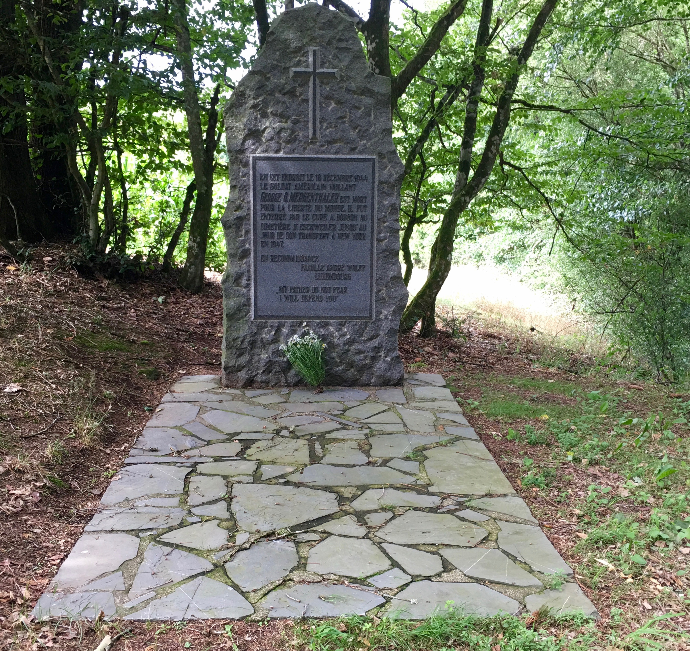 Mergenthaler roadside monument