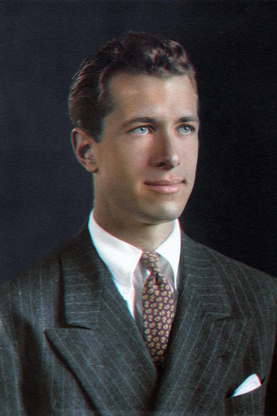George Mergenthaler 1943 yearbook pi
