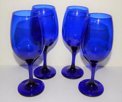 Copa decoración  azul cobalto