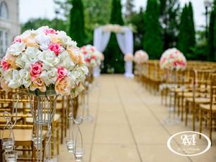 Ceremonia Silla Tiffany dorada