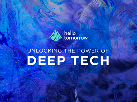 Spiral Blue Selected As Hello Tomorrow's Deep Tech Pioneers