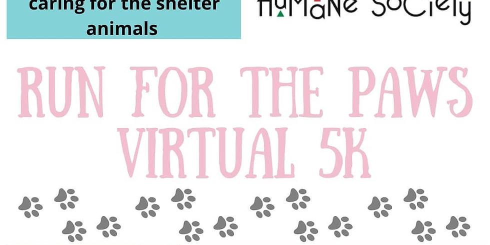 Run for the Paws Virtual 5K