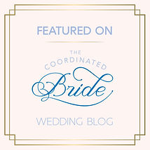 The coordinate bride wedding feature