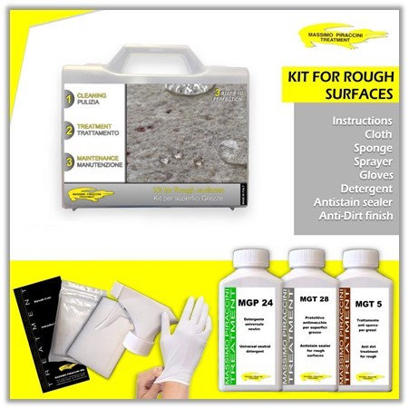 CARE KIT FOR ROUGH SURFACES