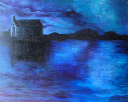 Adriatica Chapel at Twilight