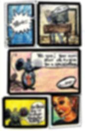 Comic by Artist Kelly E. Marra