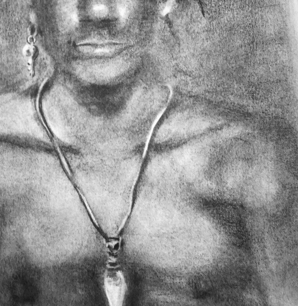 Male Model Cropped Chest by Kelly E. Marra