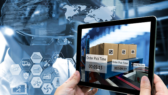 Industry 4.0,Augmented reality and smart