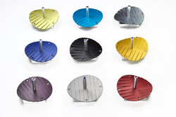 Aluminum Stripes Dreidle