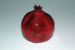 pomegranate, rosh hashanah, rimon, motag, wholesale judaica, jewish gifts