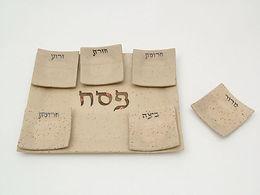 seder palte, passover, pessach, ceramic seder palte, seder plate wholesale, motag judaica
