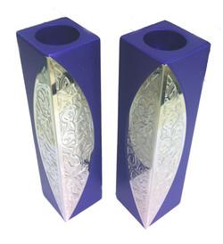Aluminum Square  Candlesticks