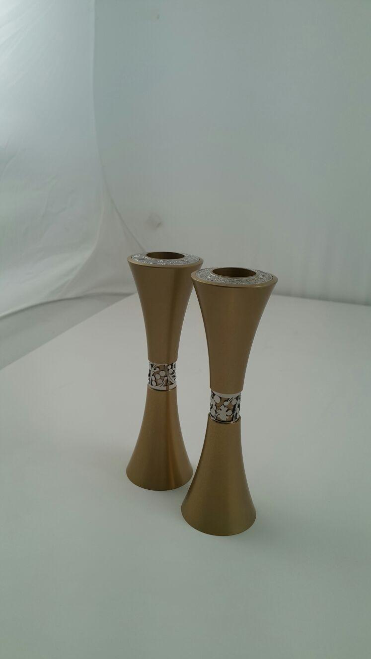 Aluminum cone small Candlesticks