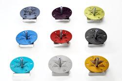 Aluminum Jewish Star Dreidle