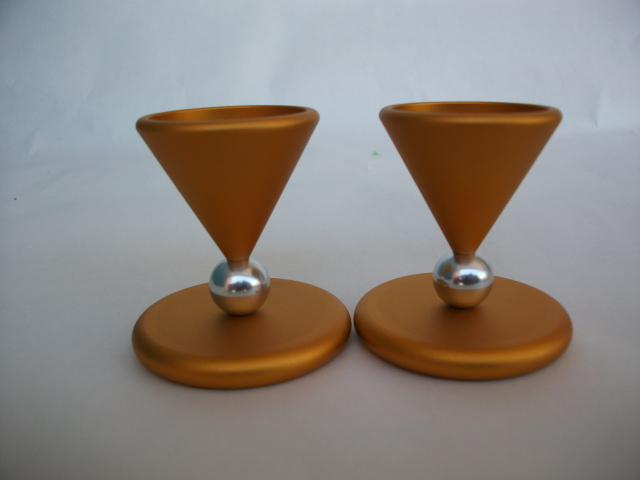 Mini Ball Candlesticks