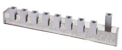 Aluminum Cubes Menorah