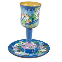 Wooden Kiddush Cup
