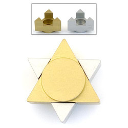 Aluminum Star Traveling Candles
