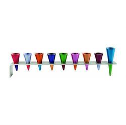 Aluminum Cones Menorah.jpg