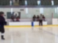 hockey bench