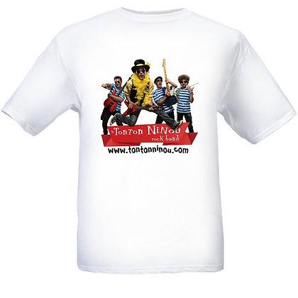 T-shirt Le Tonton Ninou Rock Band (enfants)