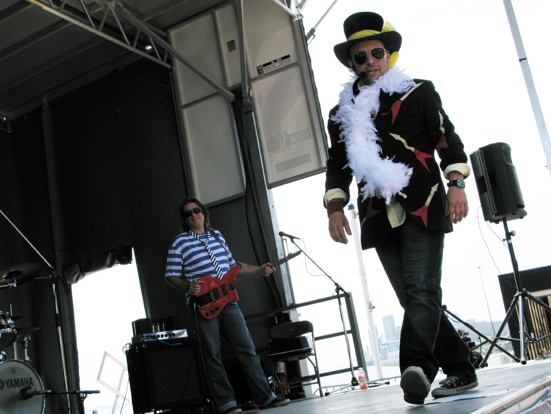 Le Tonton Ninou Rock Band en 2010