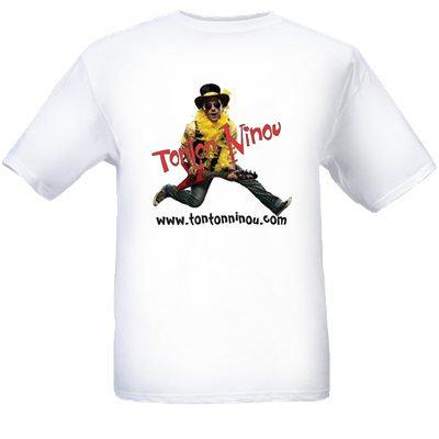 T-Shirt  Tonton Ninou sautant imprimé recto