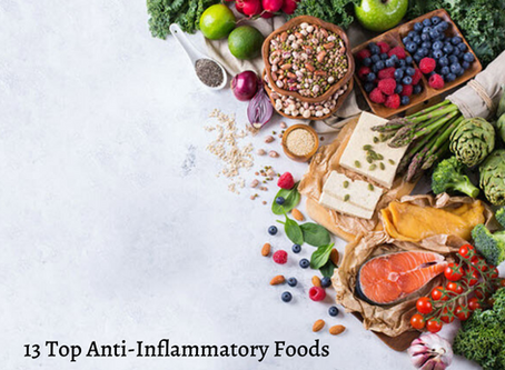 13 Anti-Inflammatory Foods