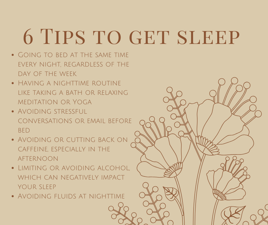 6 Tips To Get Sleep