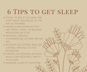 6 Tips To Get Sleep