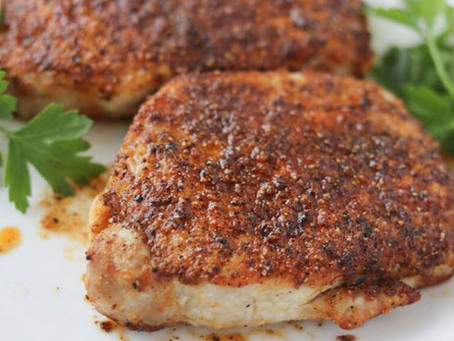 Air Fryer Paleo Pork Chops