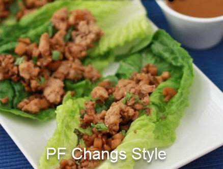 Healthy Lettuce Wraps (PF Chang Style)