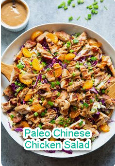 Paleo Chinese Chicken Salad