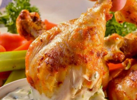 Air Fryer Buffalo Chicken