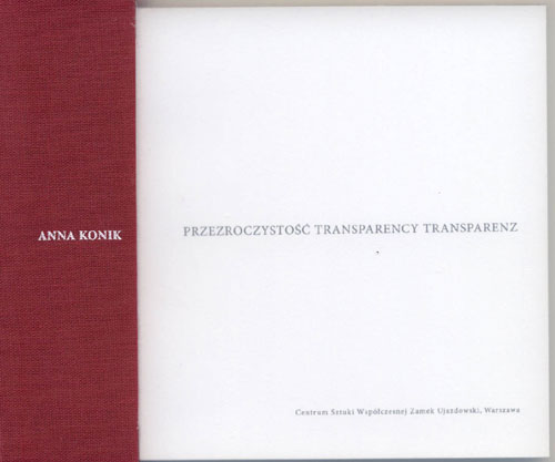 Transparency catalogue