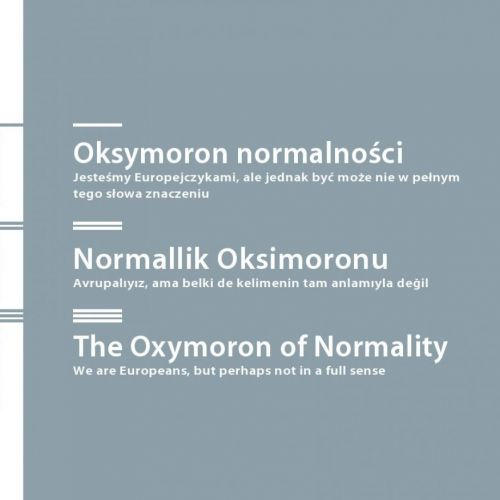 The Oxymoron of Normality/Oksymoron