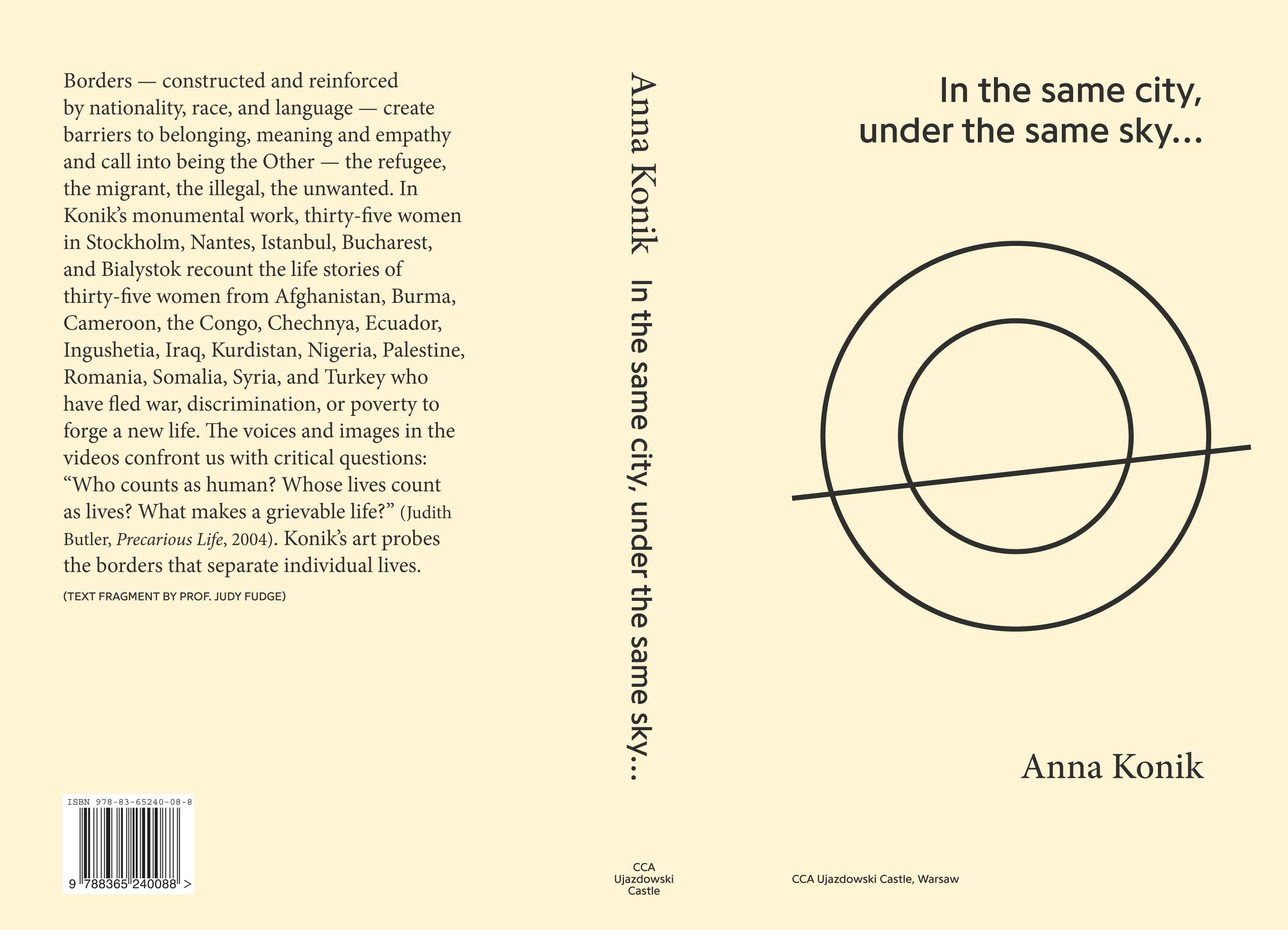 In the same city, under the same sky... (book cover ENG version)
