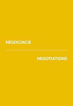Negocjacje/Negotiations