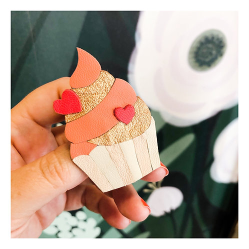 Broche Cup Cake