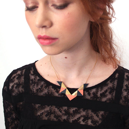 Collier Petit Triangle -Or