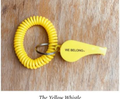 We Belong - The Yellow Whistle