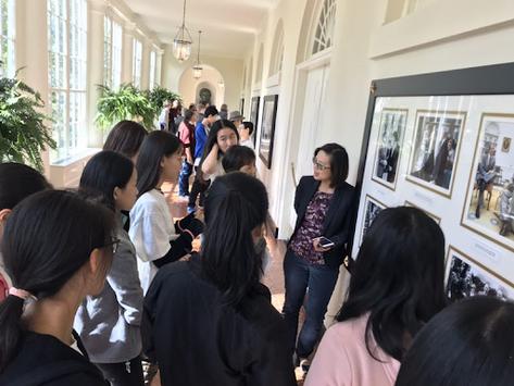 CAPA JRC 小记者访问白宫