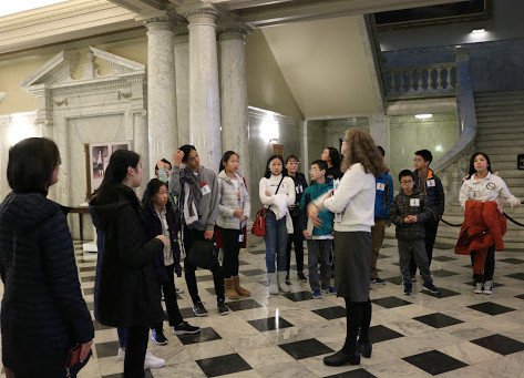 Maryland State House Tour Photo Journal