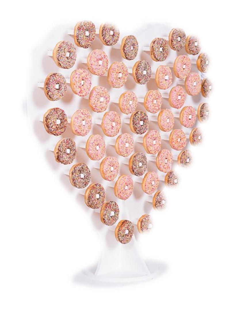 Donut Heart Wall