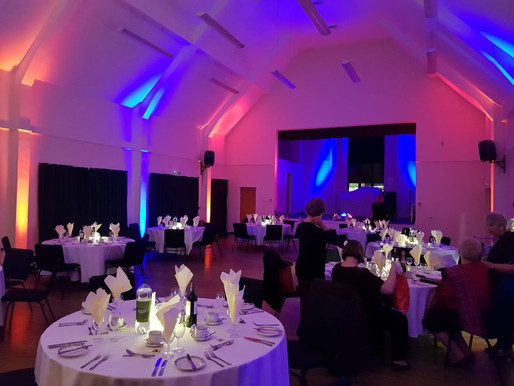 Sims At Amesbury's Largest Event Space; The Bowman Centre