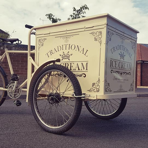 Vintage Ice Cream Bike