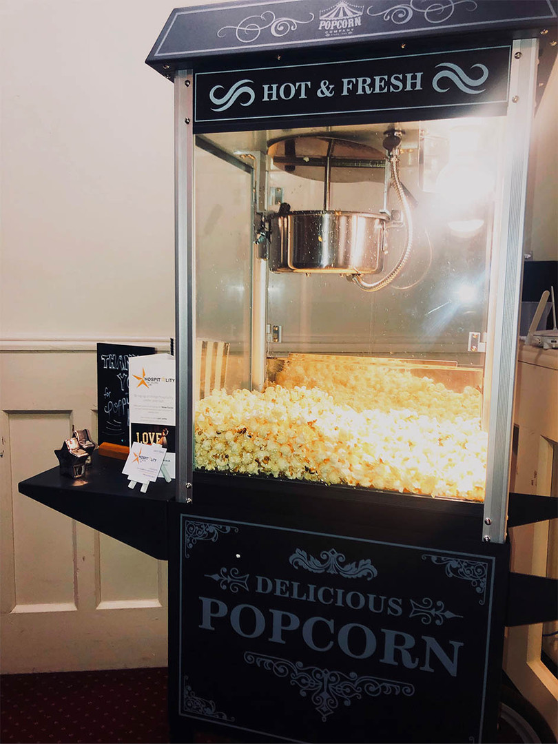 Vintage Popcorn Stand