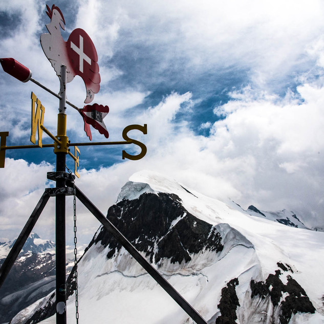 Breithorn Mt. next to Matterhorn