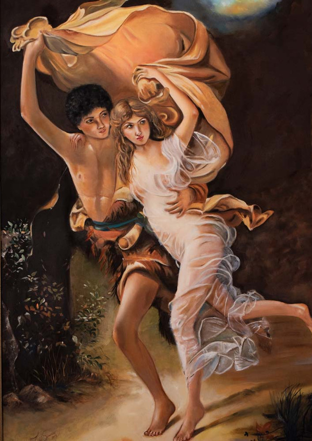 """Replica Auguste Cot """"The Storm"""""""